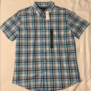 Banana Republic Short Sleeve Button Down